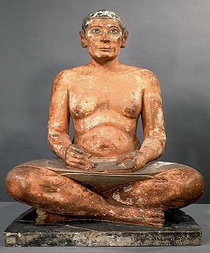 Статуя писца