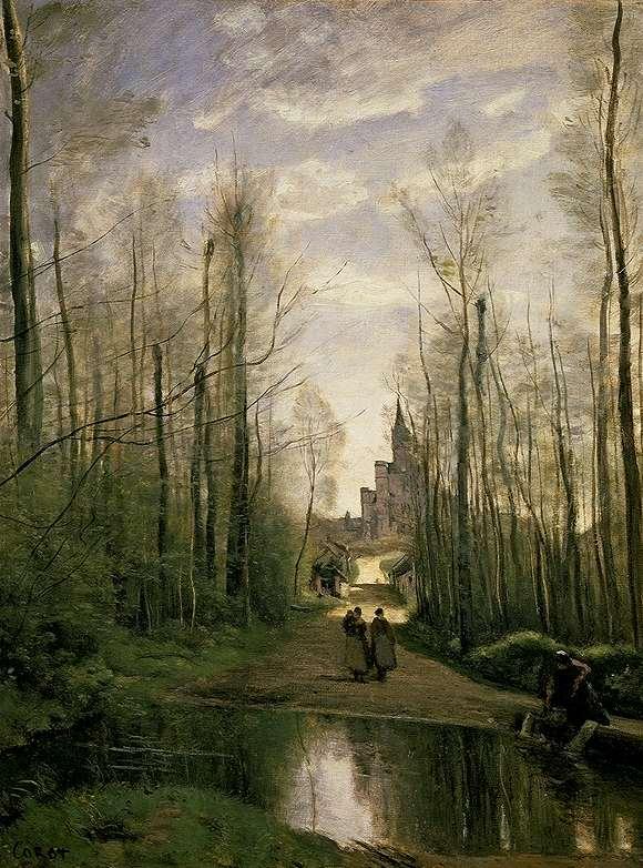 Лувра живопись франция xix век